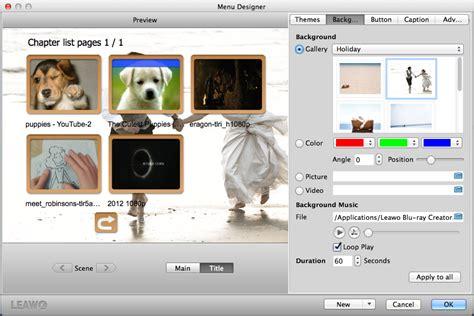 wallpaper generator mac guide de l utilisateur de leawo blu ray creator pour mac