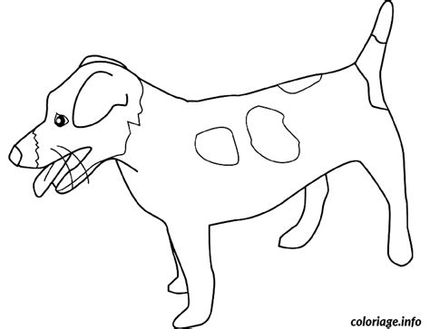 Coloriage Dessin Chien Jack Russell Terrier Dessin Coloriage De Chien A Imprimer Jack Russel Dessin L