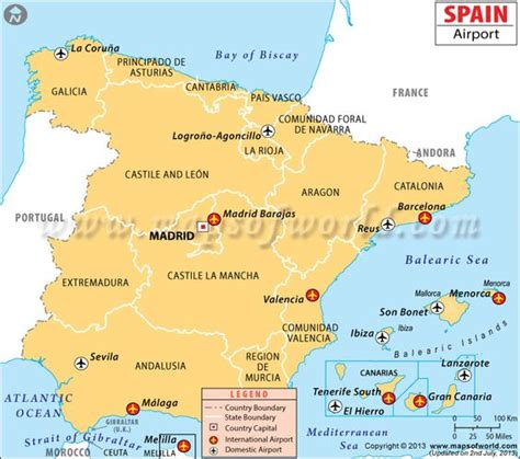 map of airports spain airports map 31 maps geography of modern and