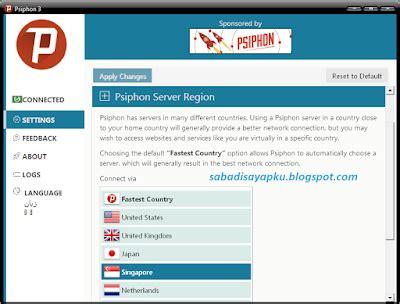seting pshipon untuk fb bbm cara internet gratis axis xl telkomsel dengan psiphon di