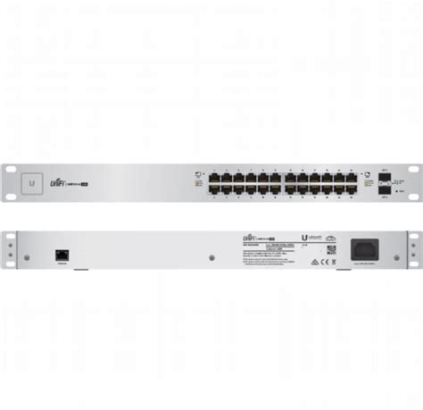 Unifi Us 24 250w Managed Poe Gigabit Switch With Sfp 1 h2 shop webshop računala komponente mrežna oprema tableti ubiquiti networks unifi 24 port