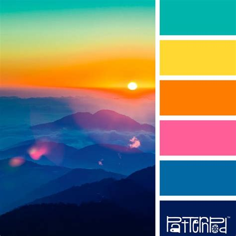 bright color combinations 25 best ideas about bright color palettes on pinterest