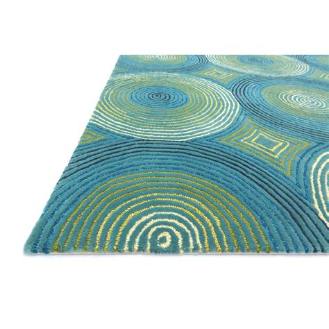 Aqua Outdoor Rug Loloi Rugs Boca Aqua Outdoor Area Rug Reviews Wayfair