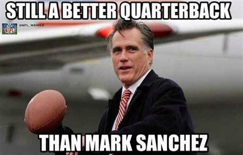 Mark Sanchez Memes - nfl memes on twitter quot mitt romney gt mark sanchez http t