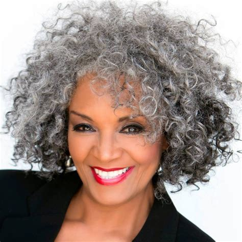 black senior hairstyles love the salt n pepper hair hairstyles pinterest