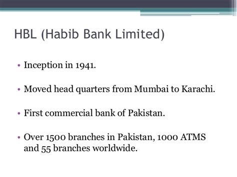Habib Bank Limited Letterhead recruitment process of habib bank limited