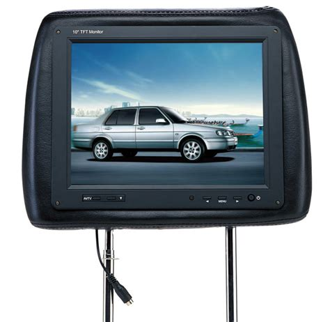 Tv Headrest china 10 headrest tft lcd monitor with tv optional