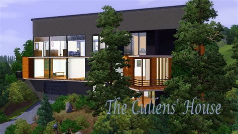 cullens house mod the sims the cullens house