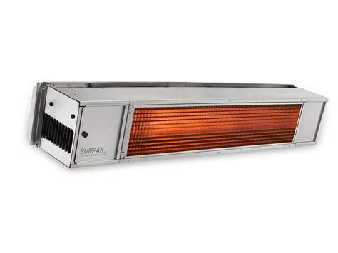 Sunpak Patio Heater Sunpak S25s Stainless Steel Infrared Outdoor Heater S25s S34s