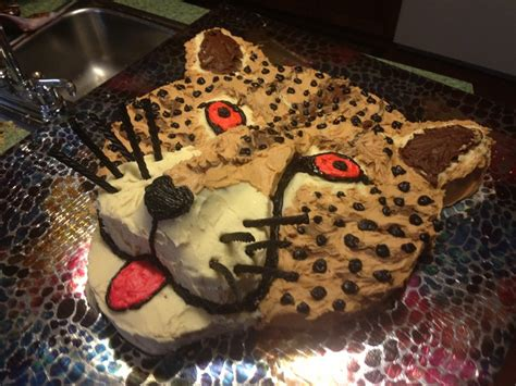 Cheetah Birthday Decorations by 17 Best Ideas About Cheetah Birthday Cakes On Pinterest