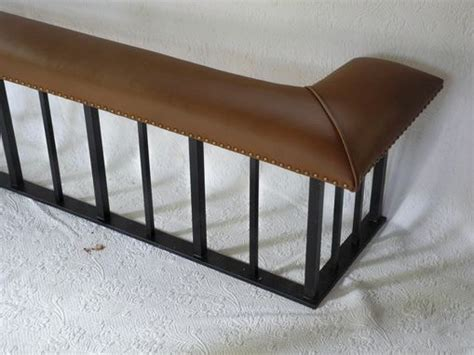 fireplace fender bench handmade club fender fireplace bench the full model by