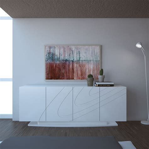 large white buffet cabinet luxury large modern sideboard cabinet buffet in white