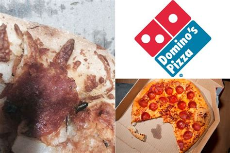 domino pizza living world domino s pizza customer finds cockroach in his food after