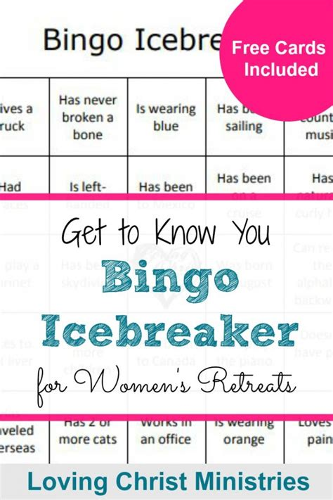 Get To You Bingo Card Template by Get To You Bingo Icebreaker A Loving