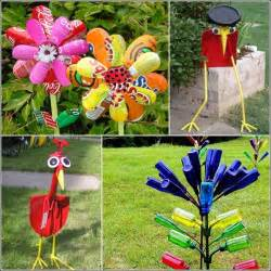 Garden With Recycled Materials 5 Amazing Garden Ideas From Recycled Materials Idees