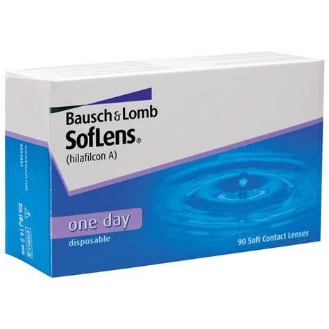 Paket Softlense 1 soflens one day 90p dagslinser bausch lomb shopping4net