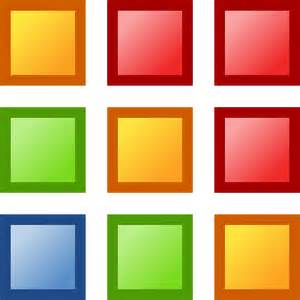 colored squares free vector graphic squares shapes colorful grids