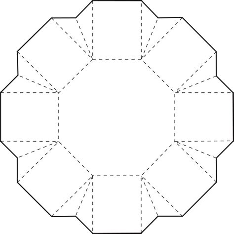 free coloring pages octagon box hexagons patterns and