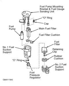 toyota fuel filter location get free image about wiring