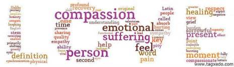 and compassion are qualities that human beings