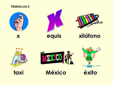 imagenes en ingles con x repaso lectura y escritura 2o grado