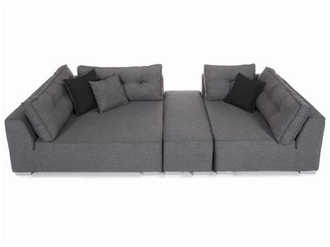 canap 195 169 d angle gris chin 195 169 conforama