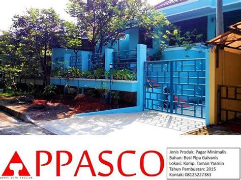 Pagar Pipa Galvanis pagar minimalis bahan pipa galvanis di taman yasmin jual