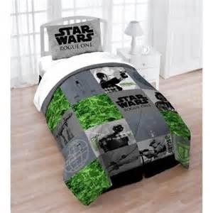 wars comforter set wars rogue one bedding quilt and sham set