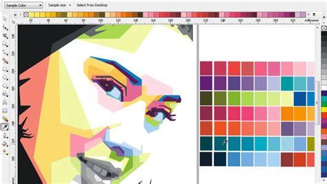tutorial wpap corel draw youtube tutorial proses color dian sastro make wpap youtube