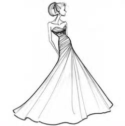 Dress Design Templates by A Timeless Celebration The Of A Wedding Gown