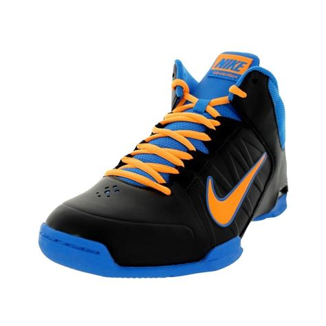 blue and orange basketball shoes 10 nike air visi pro iv mens basketball shoes
