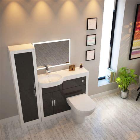 Apollo Bathroom Furniture Apollo Bathroom Suite Grey Buy At Bathroom City