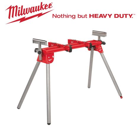 milwaukee saw bench msl1000 milwaukee mitre saw stand trestles saw horses