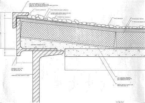 roof section detail fascimiles of construction documents cont d
