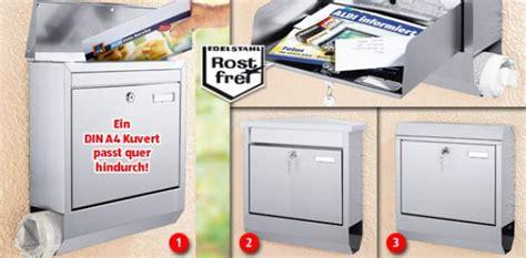 Angebot Briefkasten Edelstahl Edelstahl Briefkasten Aldi S 252 D Ansehen