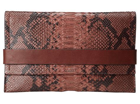 Clutch Python Multi Rainbow L Size no results for coach bleecker python clutch search