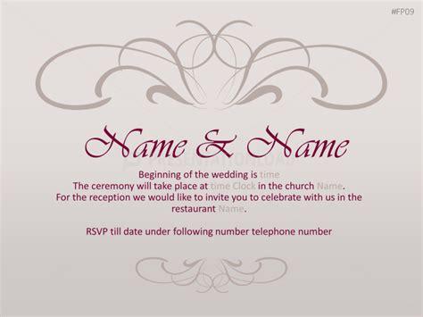 Vorlage Einladung Hochzeit by Vorlagen Einladung Hochzeit Kathyprice Info