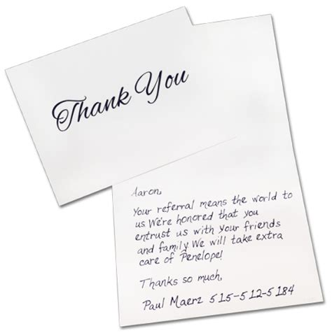 handwritten thank you card template still not convinced on sending handwritten cards rocket