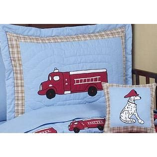 fire truck baby bedding sweet jojo designs fire truck collection 5pc toddler