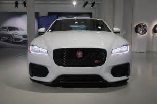 Jaguar Cars News 2016 Jaguar Xf Look 2015 New York Auto Show