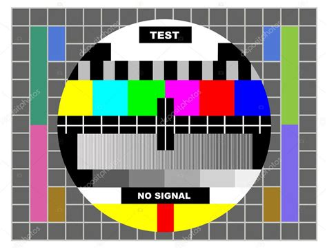pattern test copyright tv color test pattern stock photo 169 victoro 8608929