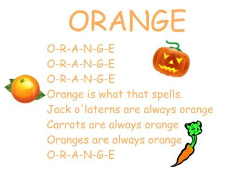 orange color song best 25 color songs ideas on circle time