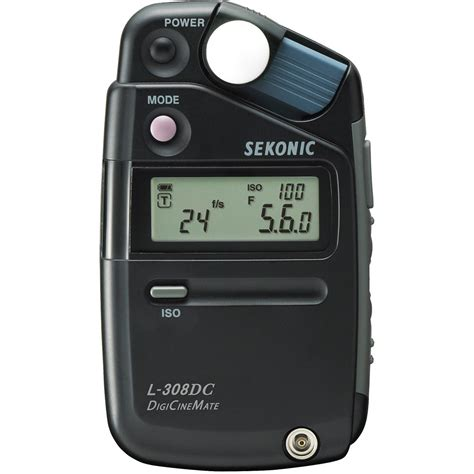 light meter for photography sekonic l 308dc digicinemate 401 310 b h photo video