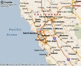 berkley california map berkeley california map