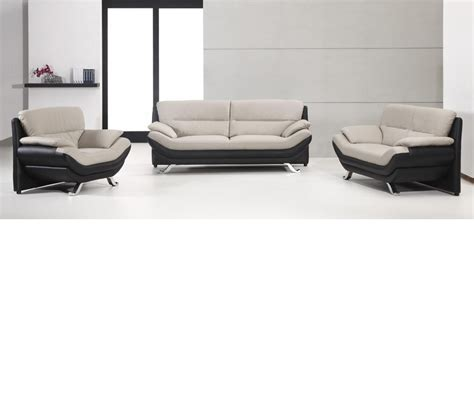 black and grey sectional sofa dreamfurniture com 2927 bonded leather black and grey