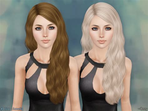 the sims resource hair sims 3 cazy s amelia hairstyle t e