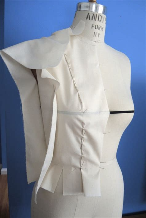 basic bodice draping draping bodice sloper my 1st time sewing projects