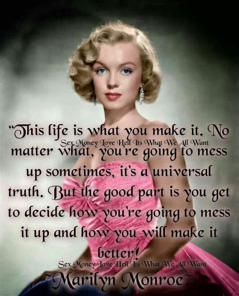 marilyn monroe quote marilyn monroe quote quotes pinterest beautiful monroe quotes and i love