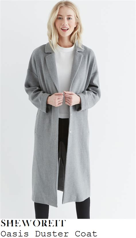 Pope Wardrobe Grey Coat by Sheworeit Pope S Oasis Grey Sleeve Button