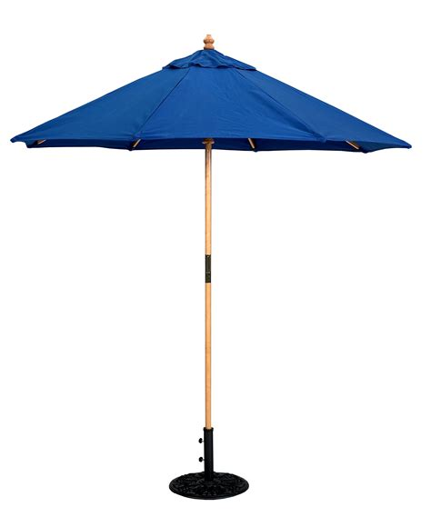 Patio Umbrella Store by Compact Caf 233 Umbrella 6 Wood Galtech Featuring
